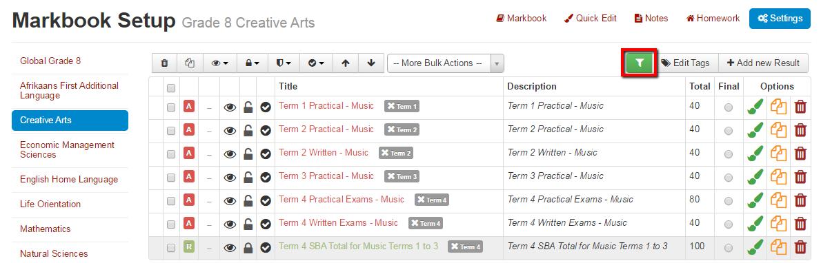 Markbook_Filtering_4